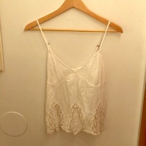 Abercrombie and Fitch lace tank top